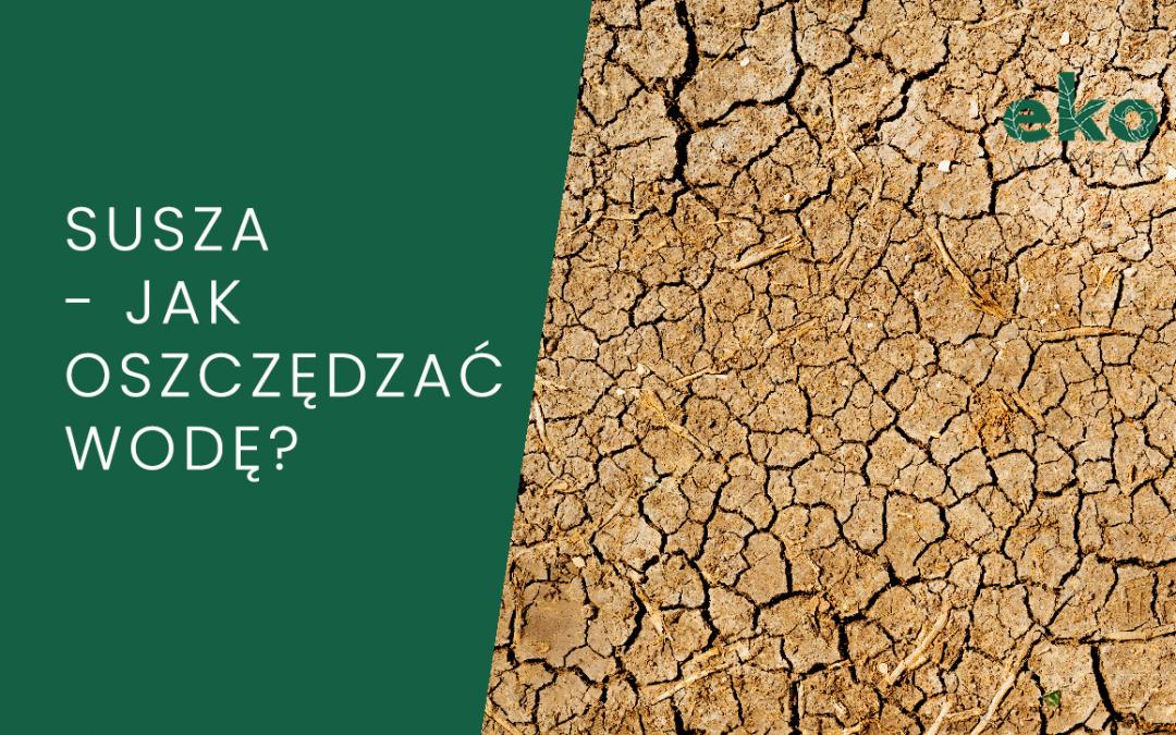 Susza – jak oszczędzać wodę?